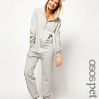 ASOS PETITE Onesuit with Ears and Hood at asos.com