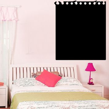 Office Home Pvc Blackboard Chalkboard Waterproof Dot Calendar Bubble Week Scheduler Wall Decal Calendar Vinyl Decal Wall Decor