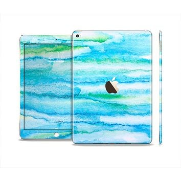 The Abstract Oil Painting Lines Skin Set for the Apple iPad Air 2