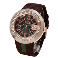 GUCCI fashion exquisite diamond watch F-PS-XSDZBSH