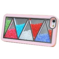 Nice Pink Triangle Hard Cover Iphone 4/4s Case