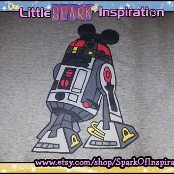 R2MK (R2D2 Mickey Mouse) Star Wars Weekend Disney Inspired T-Shirt