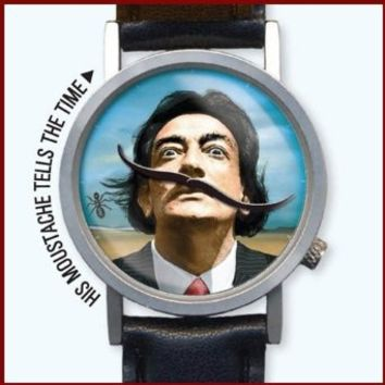 The Surreal Salvador Dali Art Unisex Analog Water Resistant Novelty Gift Watch
