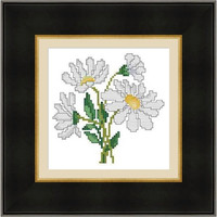 Daisy -  PDF Cross Stitch Pattern - INSTANT DOWNLOAD
