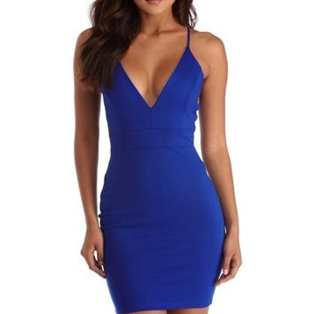 Royal Midnight Dreams Bodycon