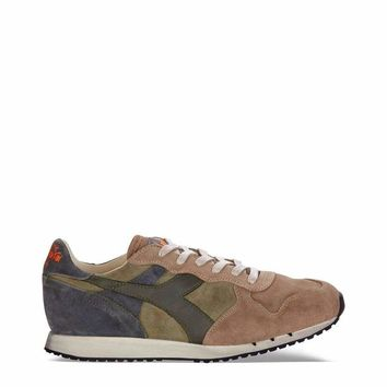 Diadora Heritage Trident Men Green Sneakers