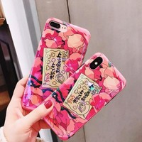Spirited Away Roses iPhone Case