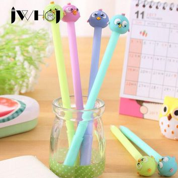 2 pcs/lot convex eye bird gel pen writing pens stationery caneta material escolar office school supplies papelaria Free shipping