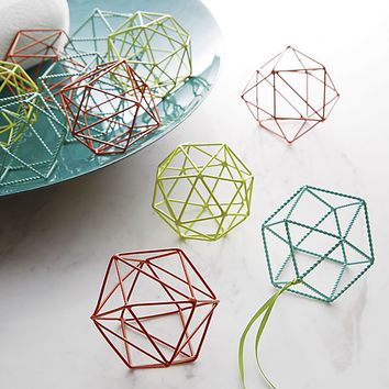 open wire ornaments
