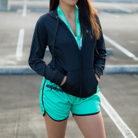 DailyDriven Women's Mint Running Shorts