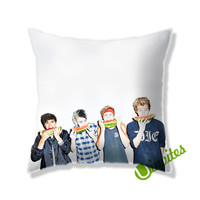 5 Second Of Summers 5sos Family Square Pillow Cover