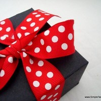 Minnie Mouse Inspired Favor Boxes Medium Set of by SimpleTastes