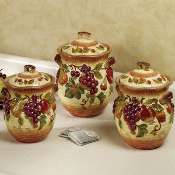 Siena Kitchen Canister Set