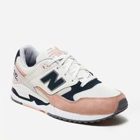 New Balance 530SC W530SC | Off White/Peach/Navy | Footwear - Naked
