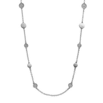 ESB7GX Dana Buchman Long Station Necklace
