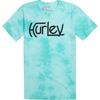 Hurley Original Irregular Wash T-Shirt - Mens Tee - Purple -