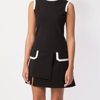 Neil Barrett Layered A-line Dress - L'eclaireur - Farfetch.com
