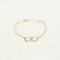 Marida Womens Making Shapes Bracelet - Gold Triangle, One