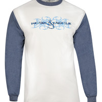 Men's H&T Camo L/S UV Fishing T-Shirt