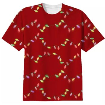 Festive Holiday Lights T-shirt