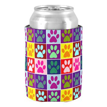 Multicolored Paws in Multicolored Squares Can Cooler