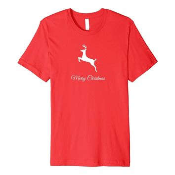Trendy Holiday Reindeer Merry Christmas Cute Fashion T-shirt