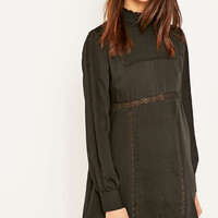 Alice & UO Gina Victorian Mockneck Dress - Urban Outfitters