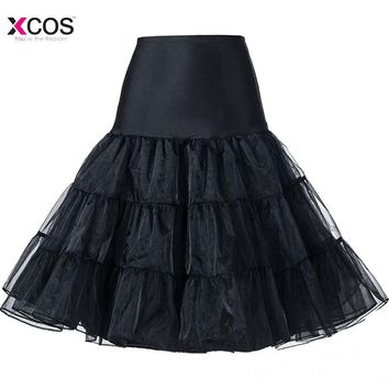 Short Mini Organza Halloween Petticoat Crinoline Vintage Wedding Bridal Petticoat for Wedding Dresses Underskirt Rockabilly Tutu