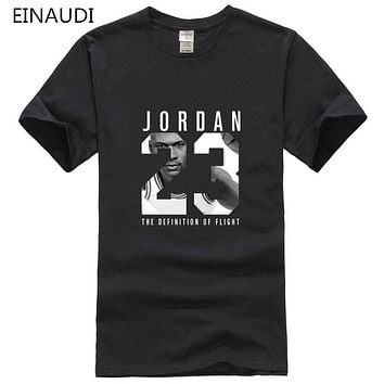 2017 Casual JORDAN 23 Mens T-shirt Year Of Birth Vampire Diaries Mystic Falls Tops Graphic Tee Shirts Tumblr Tshirt Men