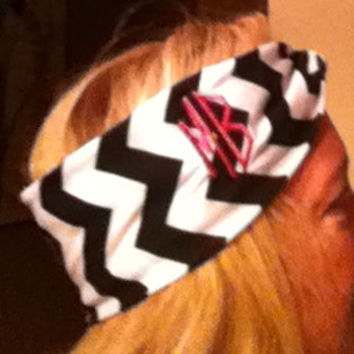 Monogrammed Infinity or Twisted Turban Headband
