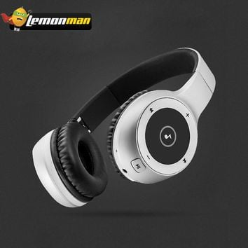 LemonMan Bluetooth Speaker Wireless bluetooth earphone Heavy Bass Sound Stereo Noise Cancelling Handsfree Headphone with Mic