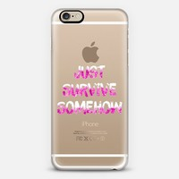 Just Survive Somehow - $10 off code DNNMRJ iPhone 6 case by Anneline Sophia | Casetify