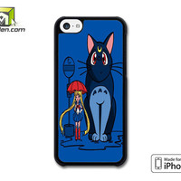 Totoro Bus Stop Sailor Moon iPhone 5c Case Cover by Avallen