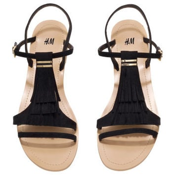 H&M Sandals with Fringe $24.95