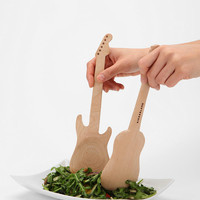 Urban Outfitters - Rockin' Salad Spoon - Set Of 2