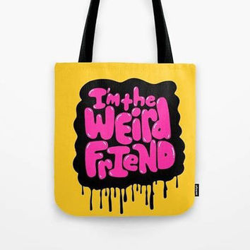 Pastel Goth Tote Bag Weird Tote Bag Creepy Tote Bag Creepy Doll Macabre Goth Girl Creepy Cute Kawaii