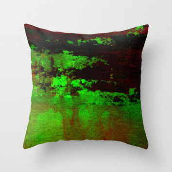 green light Throw Pillow by agnes Trachet | Society6