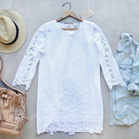 Greek Isles Dress in White