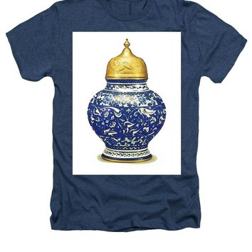 An Ottoman Iznik Style Floral Design Pottery Polychrome, By Adam Asar, No 9a - Heathers T-Shirt