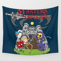 MASTER OF THE UNIVERSE Wall Tapestry by Maioriz Home
