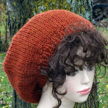 Slouch Hat Knit
