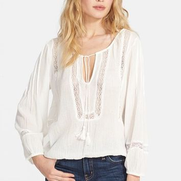 Women's Joie 'Arcene' Cotton Peasant Top,