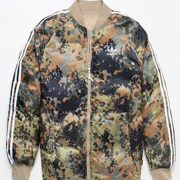 adidas x Pharrell Williams Hu Hiking Reversible Camo SST Jacket at PacSun.com