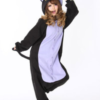 Kigurumi Shop | Spooky Black Cat Kigurumi - Animal Costumes & Pajamas by Sazac