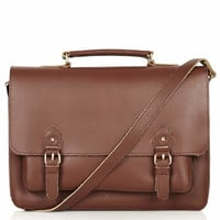 CLASSIC LEATHER SATCHEL