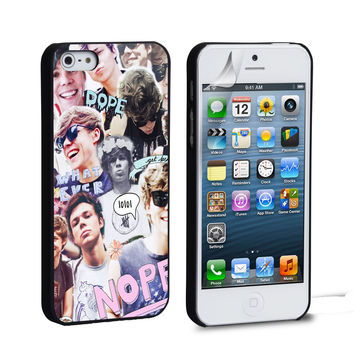 Ashton Irwin 5 SOS collage iPhone 4 5 6 Samsung Galaxy S3 4 5 iPod Touch 4 5 HTC One M7 8 Case