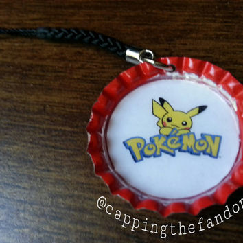 Pikachu (Pokemon) Phone Charm