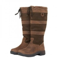 Dublin River Boots with Waterproof Membrane and Free Horseware Winter Woolly Socks