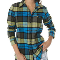 SURFSTITCH - WOMENS - TOPS - SHIRTS - BURTON DRIVER FLANNEL SHIRT - LADY LUCK