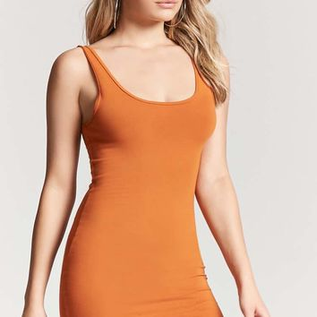 Stretch-Knit Tank Dress